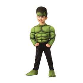 Toddler Boys' Marvel Hulk Muscle Chest Halloween C