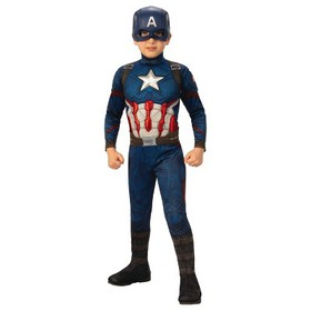 Boys' Marvel Captain America Deluxe Muscle Hallowe