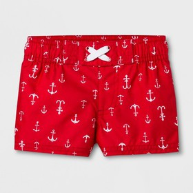 Baby Boys' Anchor Swim Trunks - Cat & Jack™ R