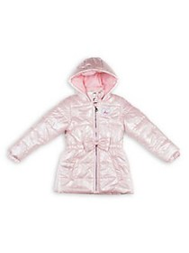 Betsey Johnson Little Girl's Full-Zip Quilted Jack