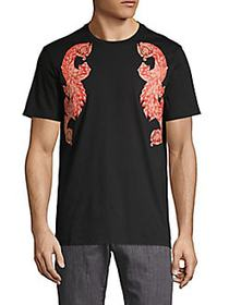 Versace Collection Graphic T-Shirt BLACK