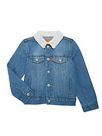 Levi's Little Boy's & Boys Faux Shearling-Trim Den