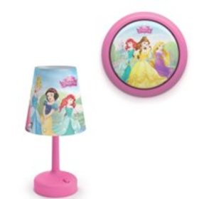 Philips Disney Princess Table Lamp and Battery Pow