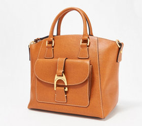 Dooney & Bourke Saffiano Leather Naomi Satchel - A