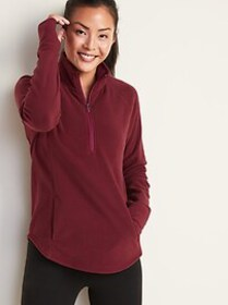 Micro Performance Fleece 1/4-Zip Pullover for Wome
