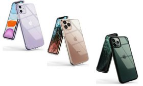 For iPhone 11 / 11 Pro / 11 Pro Max Case Clear Qi