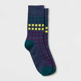 Pair of Thieves Men's Space Squares Crew Socks - S