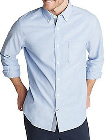 Nautica Classic-Fit Oxford Shirt LIGHT FRENCH BLUE