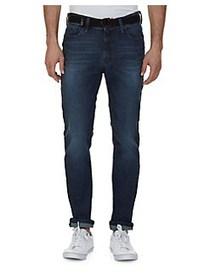 Nautica Slim-Fit Tapered Faded Jeans BLUE