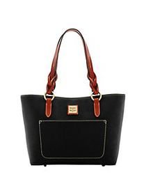 Dooney & Bourke Small Tammy Leather Tote BLACK