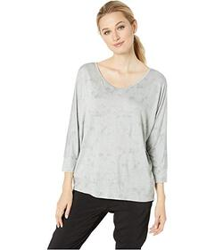 Jones New York 3\u002F4 Sleeve Easy Pullover Top