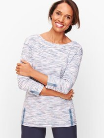 Talbots Textured Space Dyed Top