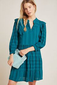 Anthropologie Rossi Ruffled Tunic
