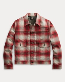 Ralph Lauren Plaid Cotton-Wool Jacket