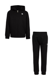 Hurley One & Only Full Zip Jacket & Joggers Set (B