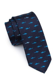 14th & Union Shark Time Tie