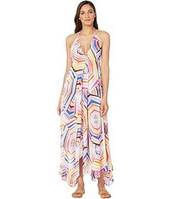 Kate Spade New York Halter Maxi Dress Cover-Up