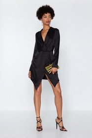 Nasty Gal Womens Black While the Cat's Away Leopar