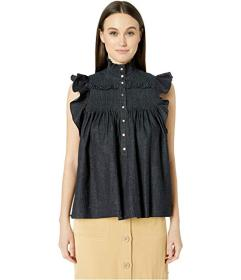 See by Chloe High Neck Sleeveless Blouse