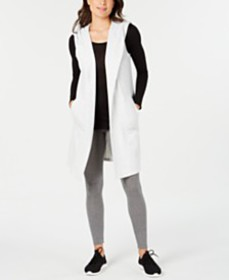 Ideology Sleeveless Hooded Wrap, Created for Macy'