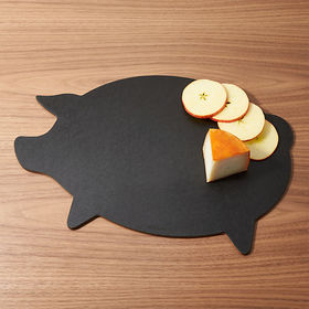 Crate Barrel Epicurean ® Dishwasher-Safe Pig Board