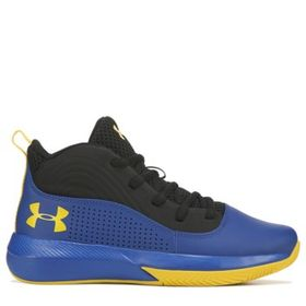 Under Armour Kids' Lockdown 4 Wide Basketball Shoe