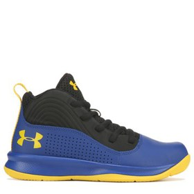 Under Armour Kids' Lockdown 4 Basketball Shoe Pres