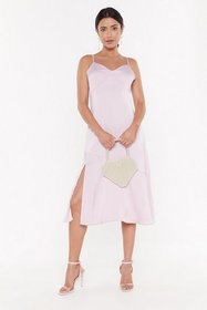 Nasty Gal Womens Lavender Everything's as It Seams