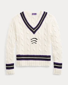 Ralph Lauren Wool-Cotton Cricket Sweater