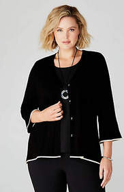 Wearever Flared-Sleeve Jacket