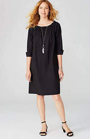 Cuffed-Sleeve Dress
