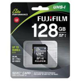 Fujifilm Elite Performance 128GB SDXC UHS-1 U3 Cla