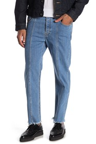 Diesel Dagh Seamed Regular Straight Leg Jeans