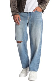 Diesel Dagh Regular Straight Leg Distressed Jeans