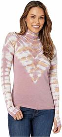 Free People Psychedelic Turtleneck Top