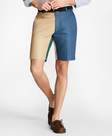 Brooks Brothers Linen and Cotton Fun Shorts