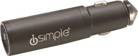 iSimple - Vehicle Charger - Black