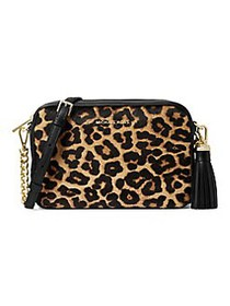 MICHAEL Michael Kors Jet Set Calf-Hair Camera Bag