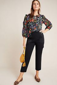 Anthropologie Jacquin Peasant Blouse