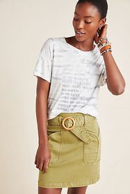 Anthropologie Brice Tie-Dyed Graphic Tee