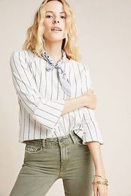 Anthropologie Calista Structured Top