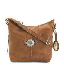 BORN Distressed Malia Leather Crossbody