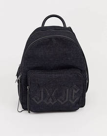 Juicy aspen zippy backpack in black