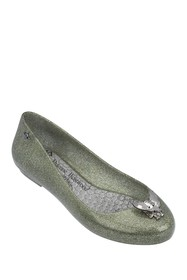Melissa Space Love Faux Leather Flat