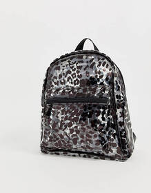 Claudia Canova Transparent Festival Backpack in Le
