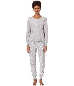 Kate Spade New York Stretch Velour Jogger Pajama S