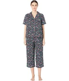 Kate Spade New York Cotton Lawn Cropped Pajama Set