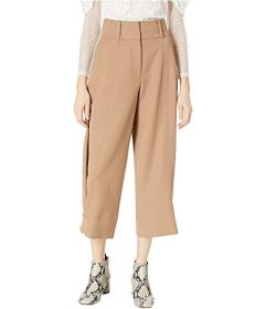 See by Chloe Trico Tine Adjustable Hem Trousers