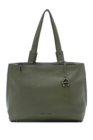 Etienne Aigner Angela Leather Tote Bag
