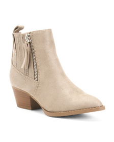 CARLOS BY CARLOS SANTANA Pointy Toe Ankle Booties